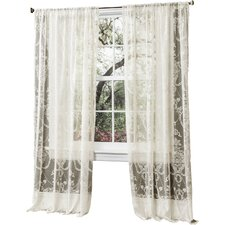 Anya Sheer Window Curtain Panel (Set of 2)