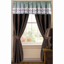 Abigail Rod Pocket Single Curtain Panel