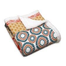 Bohemian Stripe Throw Blanket