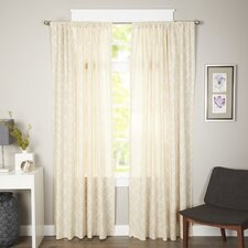 Geo Light-Filtering Curtain Panel (Set of 2)