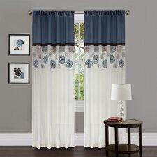 Tender Blossom Polyester Window Panels