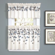 Flower Tailored Window Treatment Collection