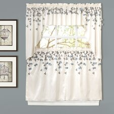 Flower Swag Window Treatment Collection
