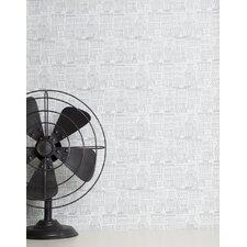 """Brownstone 15' x 27"""" Scenic Roll Wallpaper"""