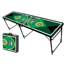 Baseball Diamonds Folding and Portable Beer Pong Table