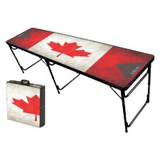 Canada Folding and Portable Beer Pong Table
