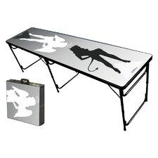 Good N Bad Folding and Portable Beer Pong Table