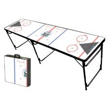 Hockey Rink Folding and Portable Beer Pong Table