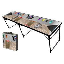 Miedeval Pong Folding and Portable Beer Pong Table