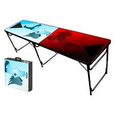 Naughty N Nice Folding and Portable Beer Pong Table
