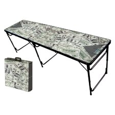Money Folding and Portable Beer Pong Table