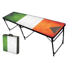 Irish Folding and Portable Beer Pong Table