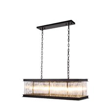 Royale 8 Light Kitchen Island Pendant