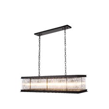 Royale 10 Light Kitchen Island Pendant