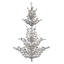 Orchid 25 Light Crystal Chandelier