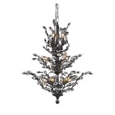 Orchid 13 Light Crystal Chandelier
