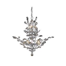 Orchid 8 Light Crystal Chandelier