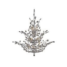 Orchid 18 Light Crystal Chandelier