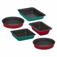Color 5 Piece Bakeware Set