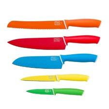 Vivid 5 Piece Knife Set
