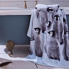 Penguin Colony Cotton Hand Towel