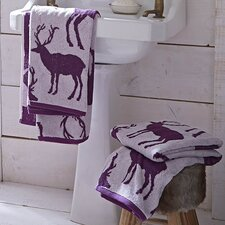 Stag Cotton Hand Towel