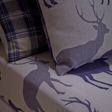 Grampian Stag 100% Cotton Fitted Sheet