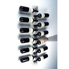 12 Bottle Wall Mounted Wine Rack