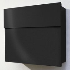 Letterman Wall Mounted Mailbox with Lock