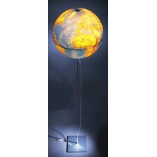 "Globe Earth German Lettering 35.5"" Table Lamp with Globe Shade"