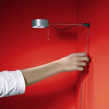 Touch-O-Matic Click Swing Arm Wall Lamp