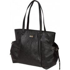 Embossed Tote Diaper Bag