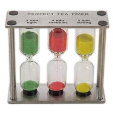 Stainless Steel 3 in 1 Timer