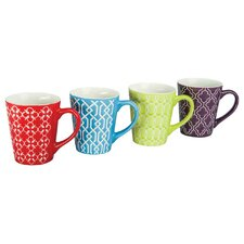 4 Piece 13 oz. Mug Set (Set of 4)