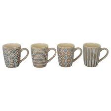 4 Piece Aruba Fashion Mug Set (Set of 4)