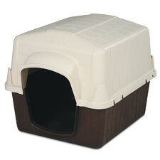 Barn 3 Single Pick* Dog Kennel in Almond and Cocoa Brown