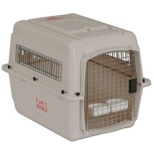 Vari Traditional Dog Kennel® in Bleached Linen