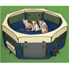 Small Pet Play Pen in Royal Blue