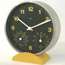"6"" Convertible Weather Station Wall Clock"