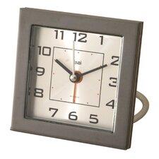 Die-cast Travel Alarm Clock