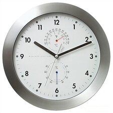 "11"" Weather Master Weather Station Modern Wall Clock"