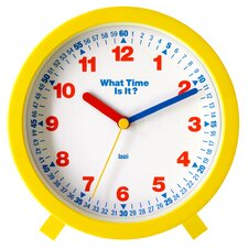 "6"" What-Time-Is-It Learning Clock"