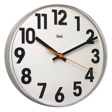 "11"" Lucite Big No Wall Clock"