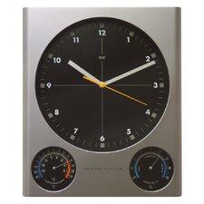 Tank Weather Station Wall Clock