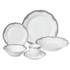 Elizabeth Porcelain 24 Piece Dinnerware Set