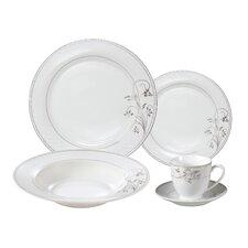 Rosalia Porcelain 24 Piece Dinnerware Set