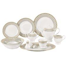 Anabelle 57 Piece Porcelain Dinnerware Set