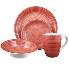 Swirl 16 Piece Dinnerware Set