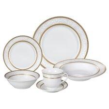 Amelia 24 Piece Porcelain Dinnerware Set