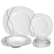Porcelain 20 Piece Dinnerware Set